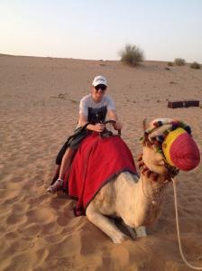 on safari in Sharjar (?) spelling?