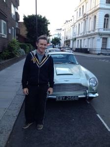 Bondy's Aston Martin.