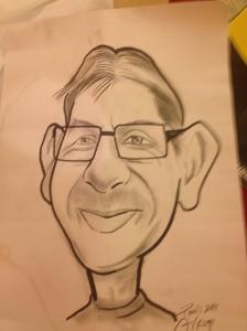 Hodgey caricature