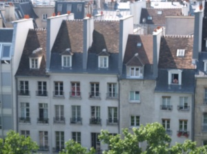 view from Pompidou.