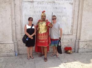a lost Roman soldier